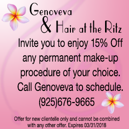 Enjoy 15% Off make up session with Genoveva