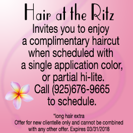 Complimentary haircut with color appointment